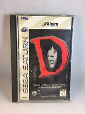 D Sega Saturn, 1996 2 Discs CIB COMPLETE - READ DESCRIPTION