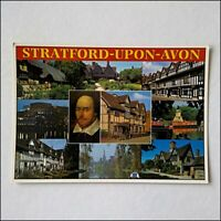 Stratford-Upon-Avon 10 Views Postcard (P404)