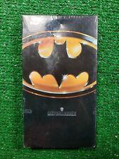 BATMAN 1989 VHS NEW SEALED VG Cond. FAST SHIP Tim Burton Jack Nicholson Prince