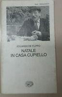 NATALE IN CASA CUPIELLO - EDUARDO DE FILIPPO - EINAUDI - 1959 - M
