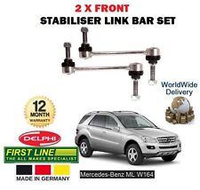 FOR MERCEDES ML280 ML320 ML350 ML420 55 CDi 2005-  2x FRONT STABILISER LINK BAR