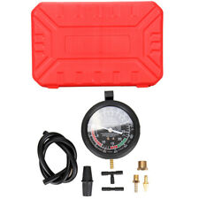 Car Pressure Vacuum Tester Manifold Gauge Test Tool Carburetor Valve Diagnose