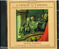 Vivaldi; Handel : Sonatas & Trio Pour Hautbois & Basse Continue / Ponseele - CD