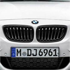 BMW M Performance Black Kidney Grilles 2011-2013 3 Series Coupe Conv 51712158985