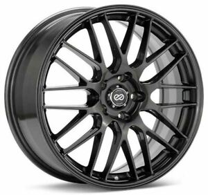 Enkei EKM3 17x7 5x100 45mm offset 72.6 Bore Gunmetal Wheel