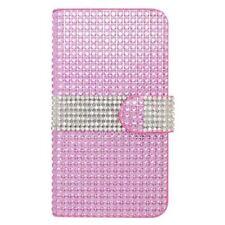 Étuis, housses et coques etuis portefeuilles roses métalliques pour téléphone mobile et assistant personnel (PDA)