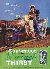 "Sprite ""Not Guaranteed Impress Mates"" 1995 Mag. Advert #3090"