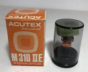 Acutex M310 IIE Replacement Bi Radial Diamond Stylus NOS