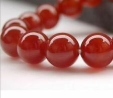 Wholesale 6mm Natural Carnelian Red Ruby Round Loose Beads Gemstones