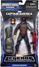 Hasbro Marvel Legends Mandroid BAF Wave Captain America Winter Soldier Movie Ww2