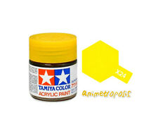 TAMIYA COLOR X-24 Clear Yellow MODEL KIT ACRYLIC PAINT 10ml Free Shipping New