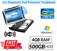 PANASONIC TOUGHBOOK CF19  TOUCHSCREEN LAPTOP Core i5 3rd Gene@2.60 4GB 500GB
