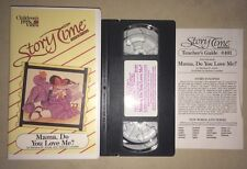 Story Time Associates - Mama, Do You Love Me? (VHS, 1991) Children's Book Video