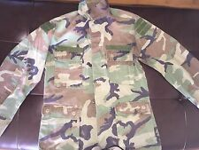 SPECIAL FORCES RANGER NAVY SEALS BDU JACKET TOP AIRSOFT WOODLAND V TAGS Small