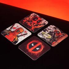 4er Set Platzdeckchen Avengers Tischunterlagen Knetunterlage Untersetzer