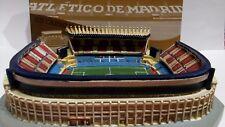 MODEL STADIUM MAQUETA 3D ESTADIO VICENTE CALDERON ATLETICO SELLO  OFICIAL