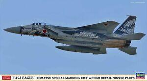 "Hasegawa 1/72 F-15J EAGLE ""KOMATSU SPECIAL MARKING 2018"" w/HIGH DETAIL NOZZLE PA"