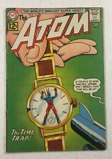 The Atom #3 DC Comics November 1962 First Appearance of Chronos Deal!