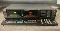 AIWA AD-WX220 Stereo Double Cassette Deck Vintage Working