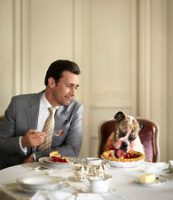 Jon Hamm UNSIGNED photograph - L7987 - With his dog!!!! - NEW IMAGE