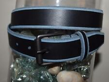 Armani Exchange Authentic Two Tone Leather Belt Black NWT G6BE137