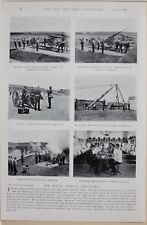 1896 BOER WAR ERA ROYAL MARINE ARTILLERY EASTNEY BARRACKS SHELL PRACTICE