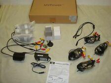SET OF 4 MVPOWER TV-CB6010 600tvl SECURITY SURVEILLANCE CCTV CAMERAS OUTDOOR IR