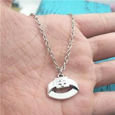 nurse's cap silver Necklace pendant ornament ,creative jewelry birthday Gift