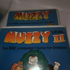 Muzzy I and Ii Video German Early Advantage Bbc Language Courses 1990 Vhs