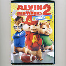 Alvin and the Chipmunks 2: The Squeakquel 2009 PG family comedy movie, new DVD