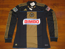 NWT Adidas Philadelphia Union Soccer Men Long Sleeves Jersey - S