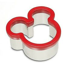 Mickey Sandwich Cookie Cutter Icon Red Disney World Theme Parks NEW