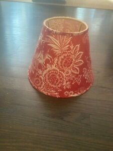 Pierre Deux Red  French Country Toile Lamp Shade    - NWOT
