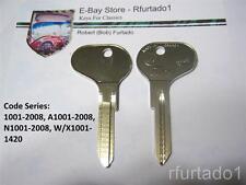 Key Blank for Vintage BMW 1968 to 1976 - 1600 & 2002 - (HF18) See Code Series