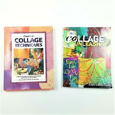 Lot of 2 Collage Books - Creative Collage Techniques & Collage Unleashed