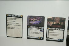 Star Trek Attack Wing (WizKids) Resource Rumble Tournament Prizes and Resources