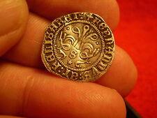 Columbus Era 1474-1504 Spain Silver Half Reales Coin Monarchs Ferdinand Isabella