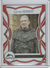 GAME OF THRONES COMPLETE SERIES THE CAST PARALLEL C68 SER BRYNDEN TULLY 31/75