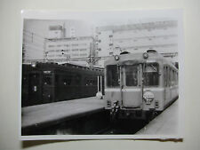 JAP546 - 1965 KINKI-NIPPON RAILWAY ~ TRAIN No6825 PHOTO Abenobashi (Osaka) Japan
