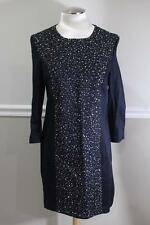 NWT French Connection Women's Black Starstruck Scoop Dress Size 12 (dr900