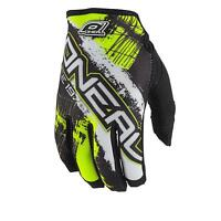 ONeal Jump Mayhem Shocker Schwarz Gelb Handschuhe MX MTB Motocross Mountainbike
