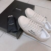 Yves Saint Laurent woMen's sneakers White Classic Court Size 36
