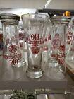 2 RARE VINTAGE New NOS Old Milwaukee Beer Logo 12 oz Flare Pilsner Glasses