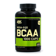 Optimum Nutrition BCAA 1000 (200ct) Muscle Endurance Strength and Recovery Aid