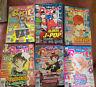 Shojo Beat Magazines Lot Of 6 Jan- June 2008 Set Japanese Manga Art Book