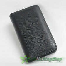 new WANCHER Luxurious CALF LEATHER Multifunction fountain pen Case 2 pens