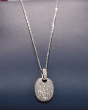 Diamond Necklace with 200 Diamonds in 18K White Gold