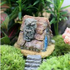 Fairy Garden Miniature Stone House Random Craft Micro Landscape Decoration chic