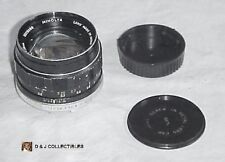 MINOLTA MC ROKKOR - PF   1:1.4 ; f = 58 mm LENS  NO. 50269