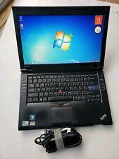 Lenovo SL410 ThinkPad Intel Core 2 Duo 2.10GHz 3GB RAM wifi 80GB HDD WEBCAM